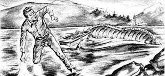 Monstre du lac Pohénégamook